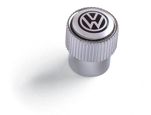 Diagram Valve Stem Caps - Black on Silver (ZVW355005A) for your Volkswagen Golf R